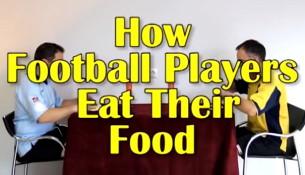 Ako jedia futbalisti (webtapete.de)
