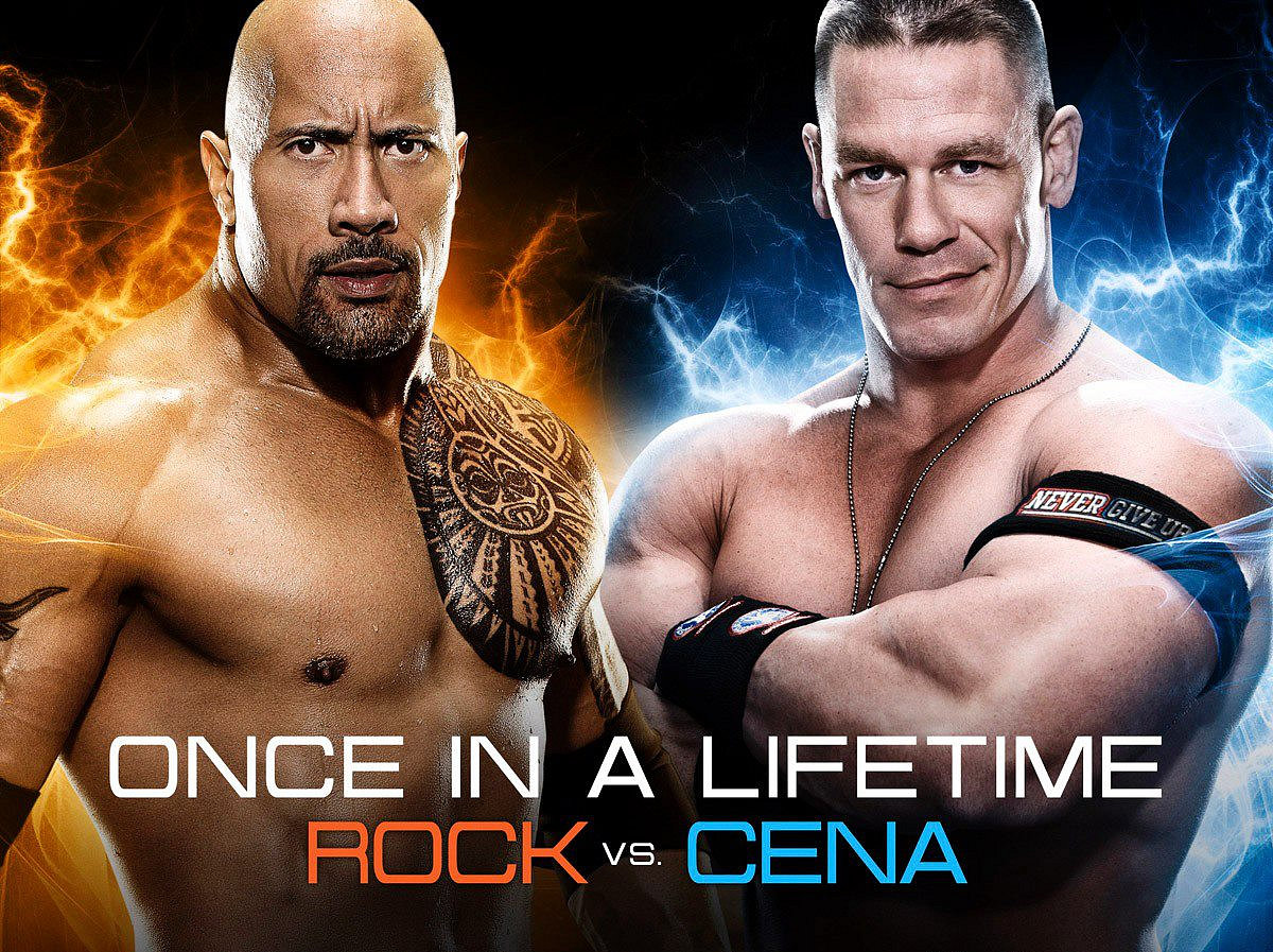 Dwayne The Rock Johnson vs. John Cena (goodfellaztv.com)