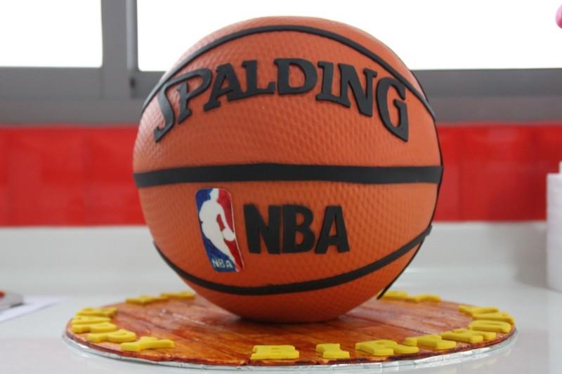 Basketbalová torta - ilustračné foto (littlebcakes.com)