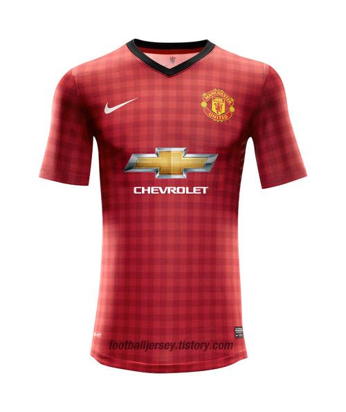 Dres Manchester United s logom sponzorskej spoločnosti Chevrolet (reeds.co.za)