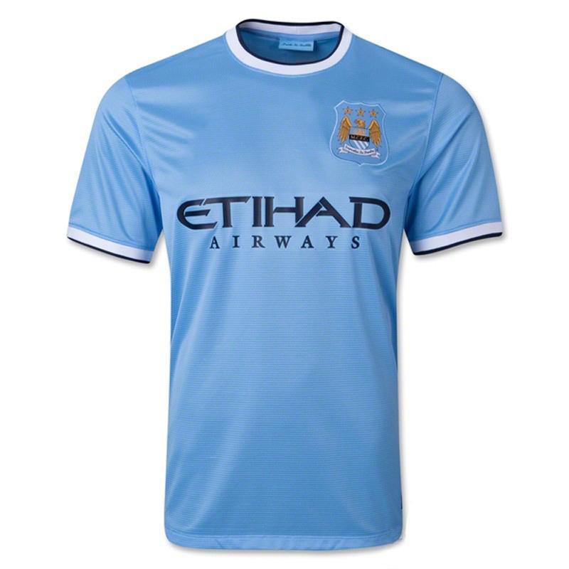Dres Manchesteru City s ich arabským sponzorom na hrudi (aliexpress.com)