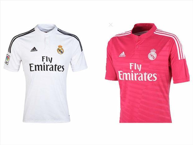 Dresy Realu Madrid s logom leteckej spoločnosti(fotbalportal.cz)