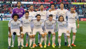 Futbalisti španielskeho klubu Real Madrid (worldfootball.net)