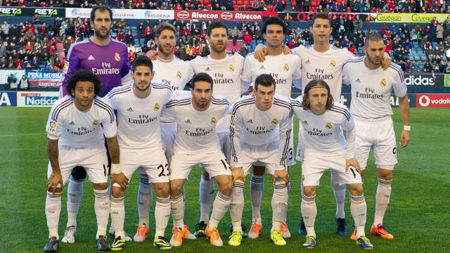 7ae78c13da00c Futbalisti španielskeho klubu Real Madrid (worldfootball.net)