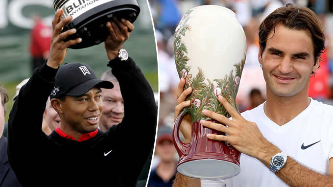 Woods a Federer (tn.nova.cz)