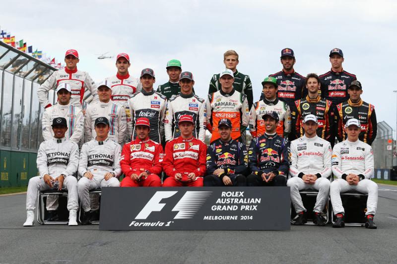 Jazdci F1 2014 - ilustračné foto (f1.imgci.com)