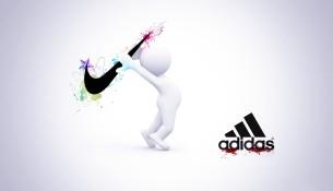 Nike vs. Adidas (forexrates.pk)