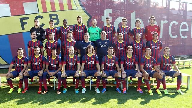 Hráči FC Barcelona (barcafc.cz)
