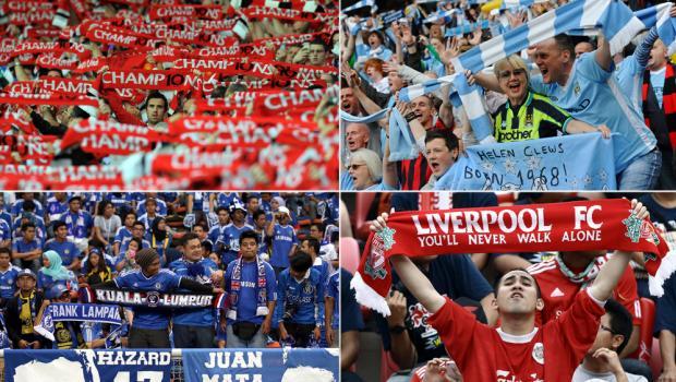 Fanúšikovia Premier League (nbcsports.com)