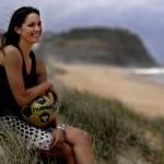 Austrálčanka Kate Gill (m.indiatvnews.com)