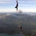 Falco a Tamara Traberová pri najvyššej hore Nemecka (si.com)