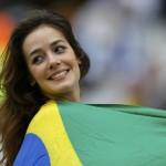 Brazílska kráska s vlakou svojej krajiny (sport.cz)