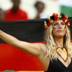 Nemecká fanúšička telom aj dušou (sport.cz)