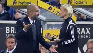 Pep Guardiola vs Bibiana Steinhaus (tz.de)
