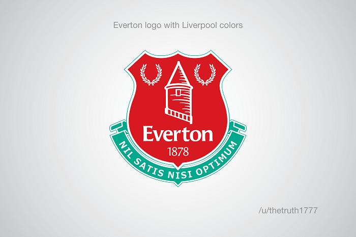 Everton vo farbách Liverpool(sportskeeda.com)
