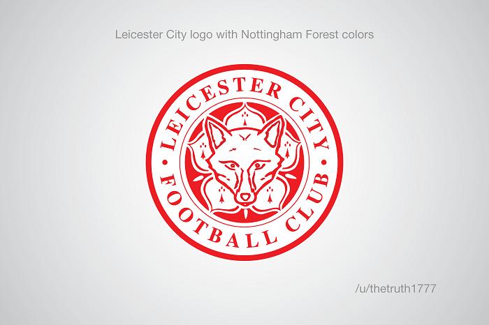 Leicester City vo farbách Nottinghamu Forest(sportskeeda.com)