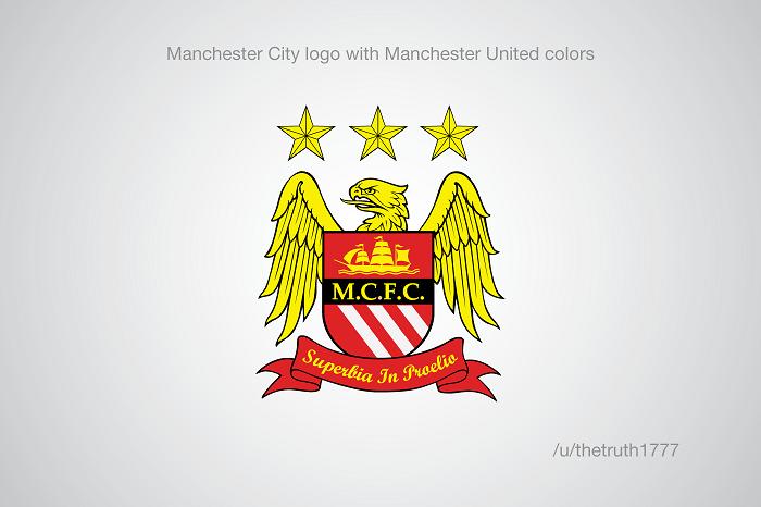 Manchester City vo farbách United(sportskeeda.com)