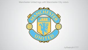 Manchester United vo farbách City(sportskeeda.com)