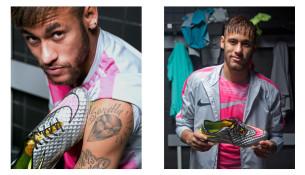 Neymarove nové kopačky (soccerbible.com)