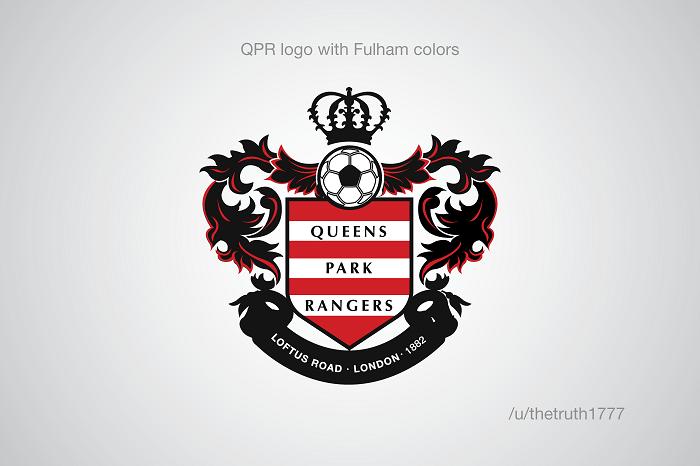 QPR vo farbách Fulhamu(sportskeeda.com)