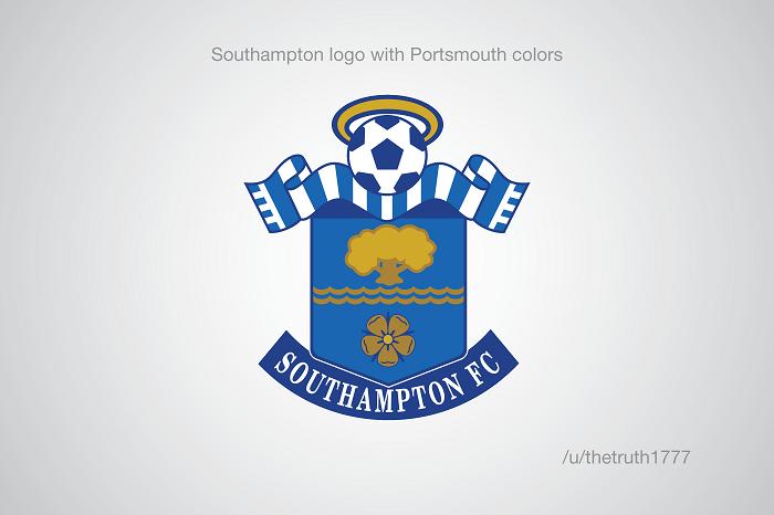 Southampton vo farbách Portsmouthu(sportskeeda.com)