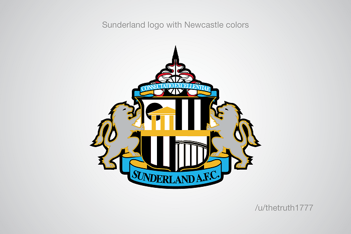 Sunderland vo farbách Newcastlu United(sportskeeda.com)
