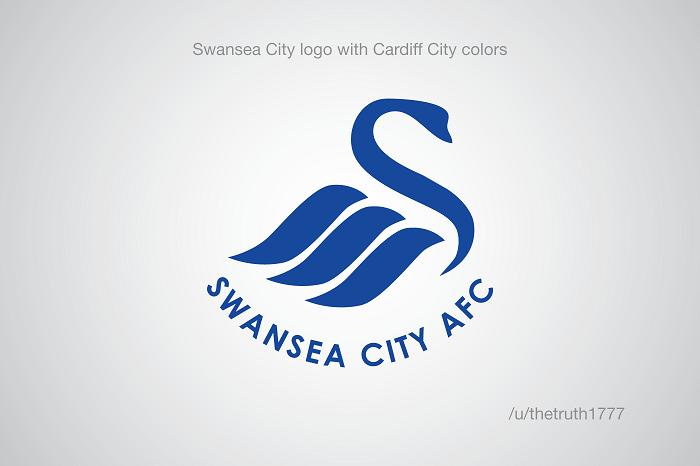 Swansea vo farbách Cardiffu(sportskeeda.com)