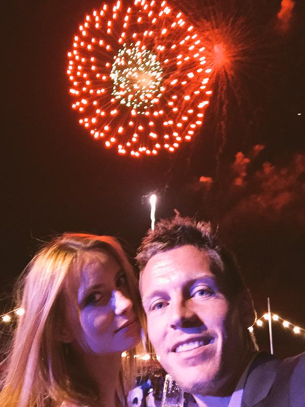 Tomáš Berdych a jeho krásna priateľka Ester (tennistweets.com)