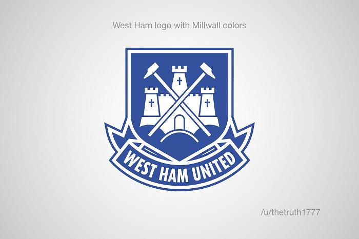 West Ham United vo farbách Millwallu(sportskeeda.com)