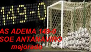AS Adema - Stade Olympique l'Emyrne 149-0 (youtube.com)
