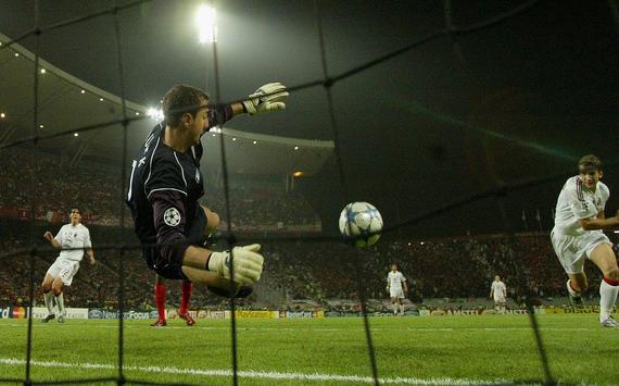 """""""Zázrak"""" vIstanbule vo finále 2005 medzi AC Miláno aFC Liverpool (sportskeeda.com)"""