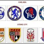 Logá Chelsea Londýn a Stoke City (profotbal.cz)