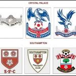 Logá Crystalu Palace a Southamptonu (profotbal.cz)