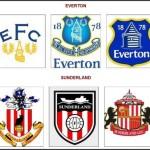 Logá Evertonu a Sunderlandu (profotbal.cz)