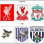 Logá klubov FC Liverpool a West Bromwich Albion (profotbal.cz)