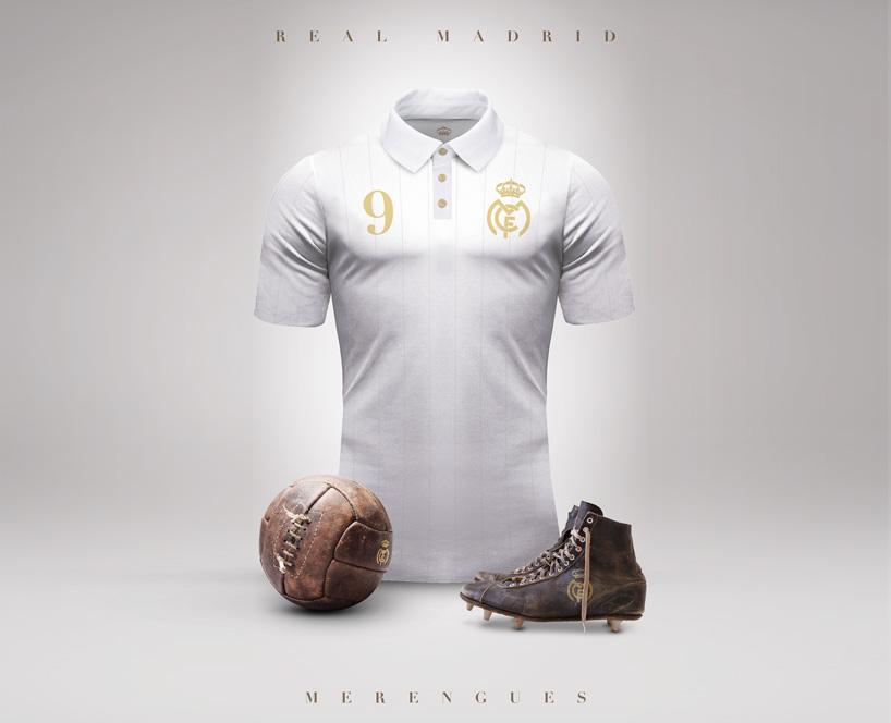 Retro dres Realu Madrid (designboom.com)
